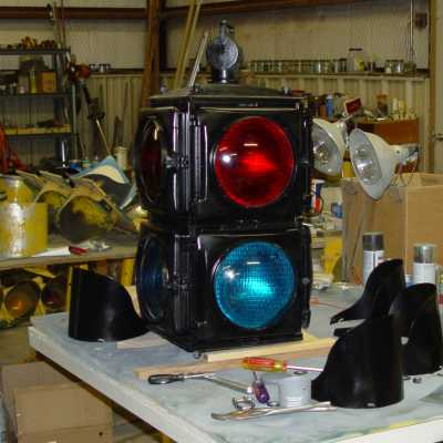 Crouse Hinds M 2 Color Fixed 4 Way Traffic Signal