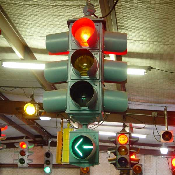 Traffic Light Sequence >> Old Timey Traffic Signal Sequences
