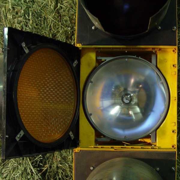 Durasig 12 In 5 Section Traffic Signal