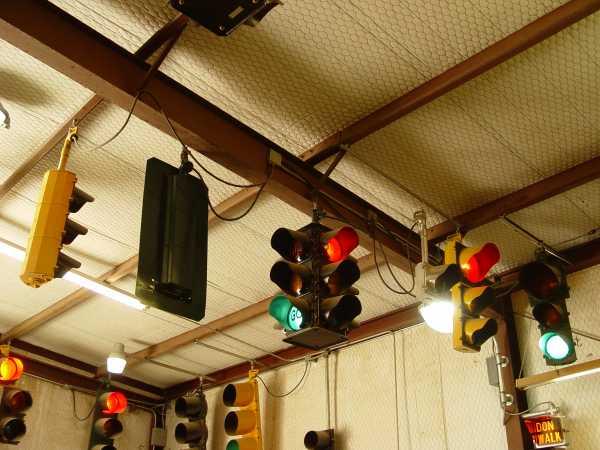 Vintage Eagle Traffic Signals