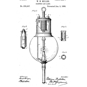 Street Light Patents: 1800 - 1886