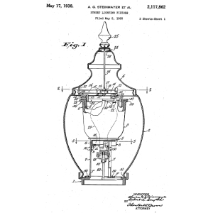 Patents1934 together with 2 Foot Led Himalayan High Bay Frosted 65w 265w additionally Wiring Diagram For A Fluorescent Light Fixture together with 6 Rfk Remodel Frame In Kit With Utd Driver as well  on mercury vapor lamp fixture
