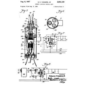 Mercury Vapor Light Fixtures Wiring Diagram additionally Patents1950 further  on mercury vapor light photocell