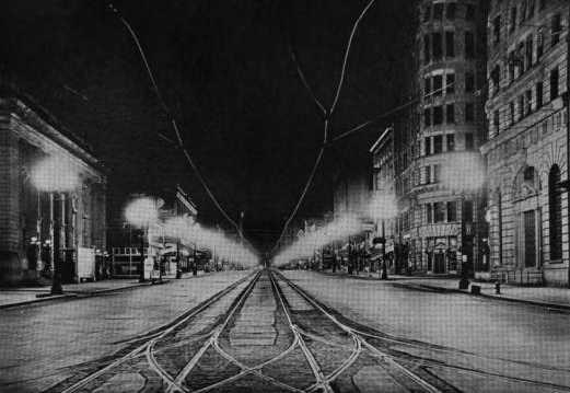 Early Street Light Designs