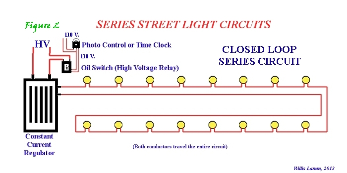 understanding series street light systems rh kbrhorse net Home Circuit Diagram Electrical Circuit Diagrams