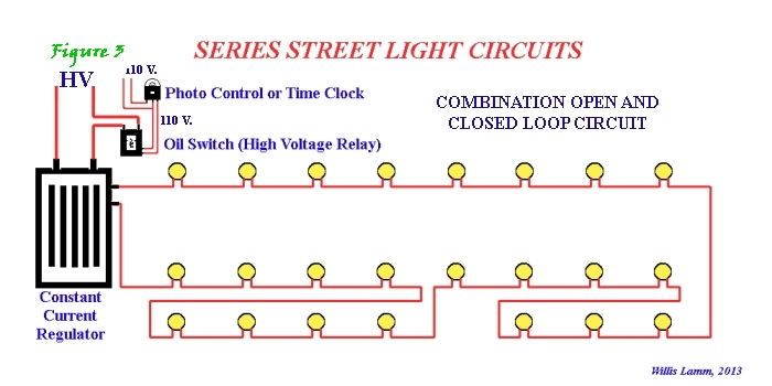 understanding series street light systems rh kbrhorse net wiring diagram for fluorescent lights in series Wiring Can Lights in Series